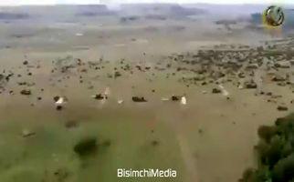 فیلم/ شلیک ۴۰۰ راکت در ۲۰ ثانیه در رزمایش ارتش