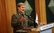 وزیر دفاع: سیاست دفاعی جمهوری اسلامی ایران، حفظ صلح، ثبات و امنیت در منطقه برای همه کشورهاست.