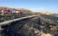 مهار آتشسوزی در محوطه تاریخی ربعرشیدی تبریز