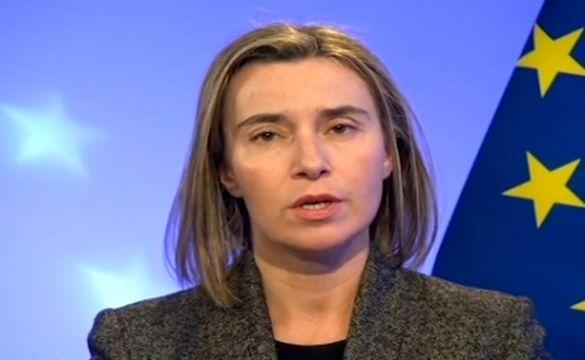موگرینی: تعامل با ایران به نفع کل خاورمیانه است/آمریکا به اجرای کامل برجام متعهد خواهد بود