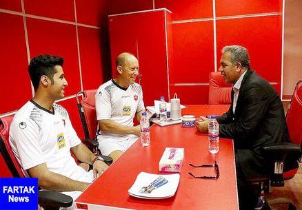 بازیکن مدنظر کالدرون تا هفته بعد به تهران می آید