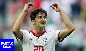 تمجید رسانه چینی از مهاجم تیم ملی فوتبال ایران
