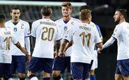 توقف ایتالیا برابر پرتغال بدون رونالدو