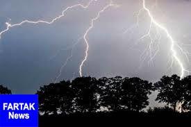 رگبار و رعد و برق در برخی مناطق کشور