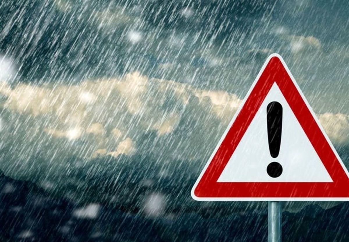هواشناسی ایران ۱۴۰۰/۰۴/۲۷| هشدار سیلاب ناگهانی و خسارت به محصولات کشاورزی