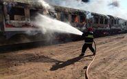 ۱۱ درصد واگنهای مسافری کشور سوخت/ مجوز قانونی برای بازسازی واگنهای سوخته در «رودشور» وجود داشت