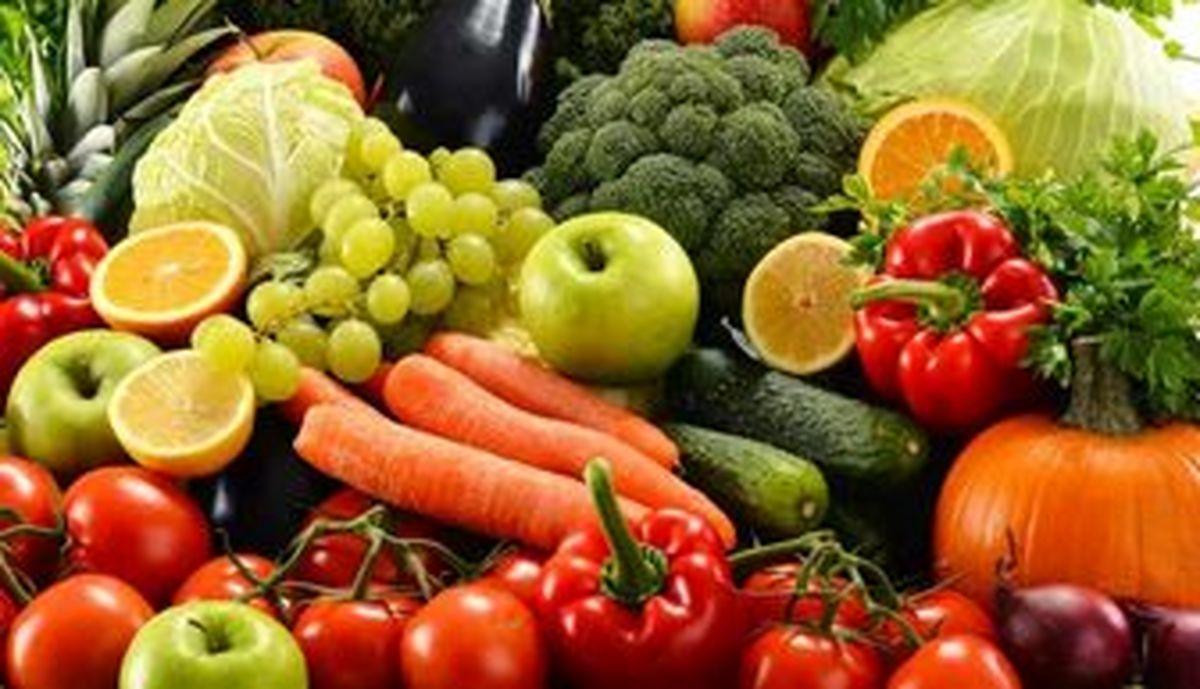 تعداد واحدهای مصرف میوه در طول روز