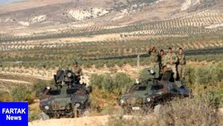 حمله ترکیه به پایگاه نظامی کردها در عفرین سوریه