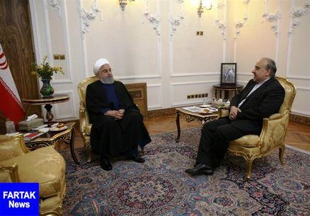 روحانی:  توقع دارم تیم امید ایران بعد از سالها به المپیک راه پیدا کند