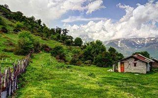 کِلاردَشت، دشتی زیبا و سرسبز بر فراز کوهها + فیلم
