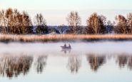 عکس منتخب نشنال جئوگرافیک | ماهیگیری صبحگاه