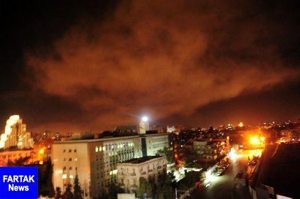 آمریکا به سوریه حمله کرد
