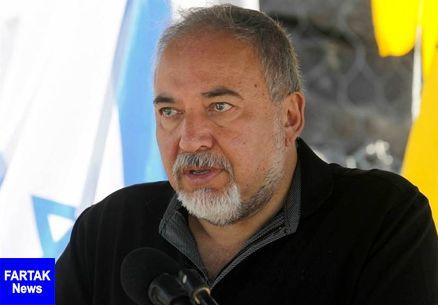 لیبرمن غزه را تهدید کرد