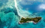 عکس منتخب نشنال جئوگرافیک | جزیره عجیبی که به شکل مار است