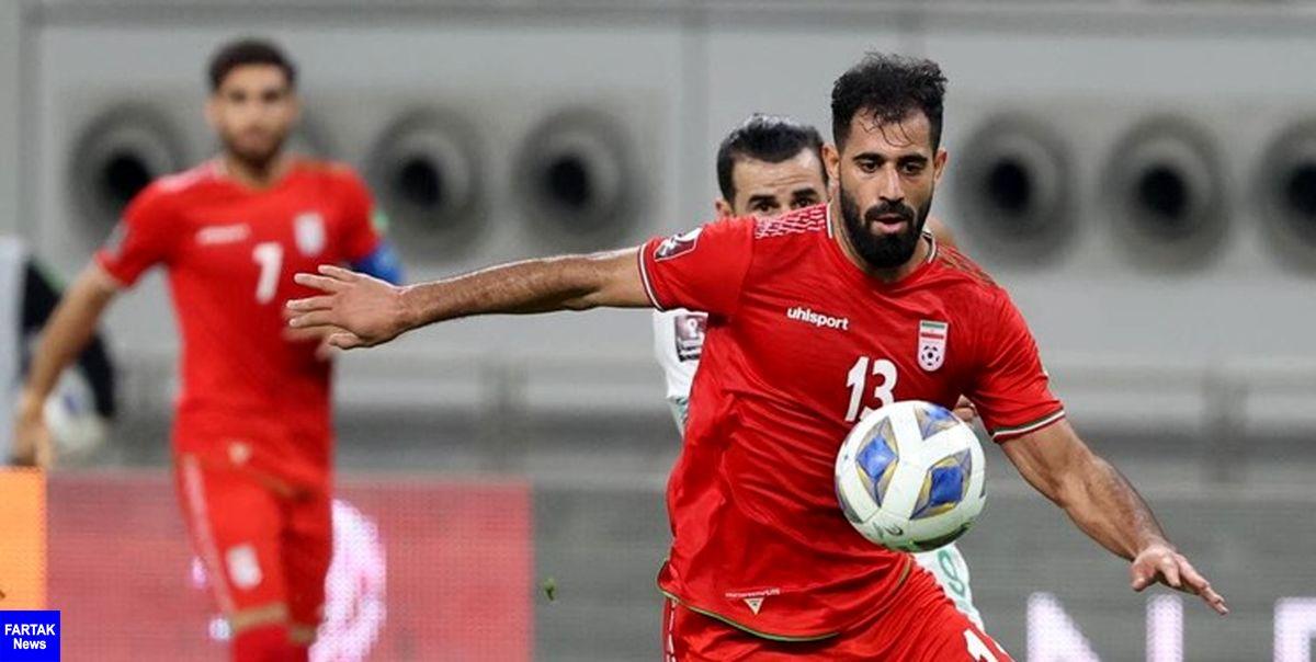 کنعانی زادگان در ترکیب الاهلی مقابل قطر+عکس