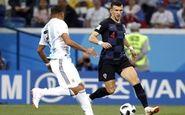 گزارش 45 دقیقه نخست دیدار آرژانتین-کرواسی