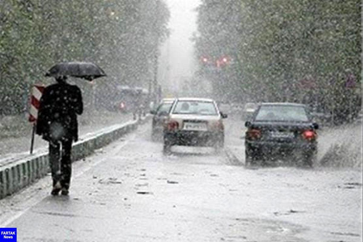 بارشهای پراکنده تا فردا مهمان مازندران