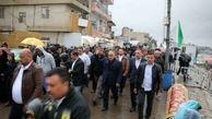 راهپیمایی میلیونی کاظمیه زیر باران شدید بغداد ادامه دارد