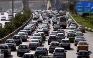 جادههای کشور همچنان پر ترافیک