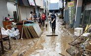 باران همچنان در ژاپن قربانی میگیرد