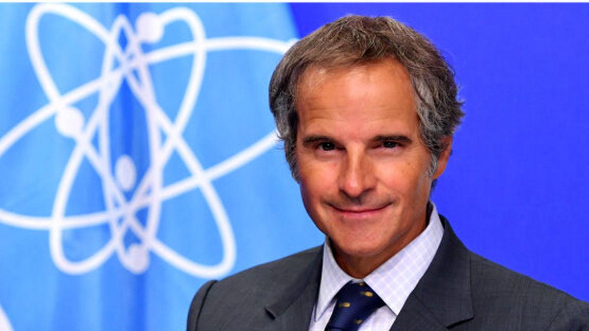 گروسی: درخصوص چند موضوع نتوانسته ایم به پیشرفت مورد نظر خود با ایران دست پیدا کنیم