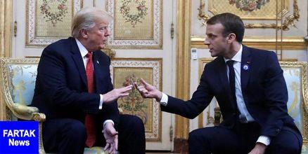 آزرده شدن ترامپ از پیشنهاد ماکرون برای کاهش تحریمهای ایران