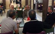 جلسه سری برانکو و مدیران پرسپولیس پیش از دیدار با سپیدرود