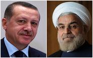تاکید روحانی و اردوغان بر ادامه همکاری ها در مورد سوریه