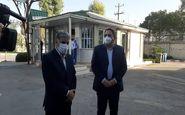 رونمایی از خودروی مدیریت بحران در شرکت گاز استان کرمانشاه