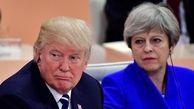 ترزا می، ضمن انتقاد از ترامپ، دوره بایدن را فرصت طلایی برای انگلیس خواند
