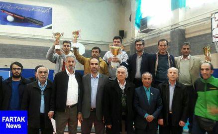 منطقه 12 قهرمان مسابقات تنیس روی میز آموزشگاههای متوسطه دوم (پسران ) مناطق شهر تهران شد