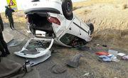 واژگونی خودرو در رشت ۶ مصدوم برجای گذاشت