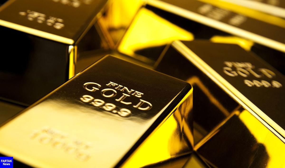 کاهش 5دلاری قیمت طلا در بازارهای جهانی