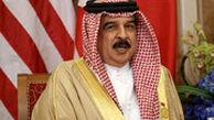 پادشاه بحرین در دبی به همراه ربات بادیگاردش