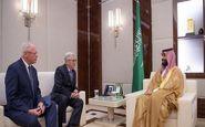 دیدار محمد بن سلمان با فرستاده ترامپ به سوریه