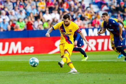 بارسلونا مقابل لوانته شکست را پذیرفت