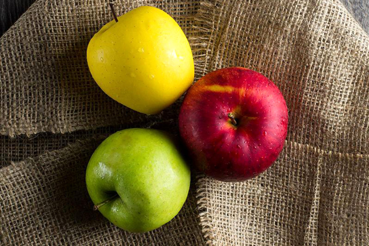 هشداری در مورد خوردن سیب