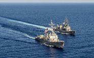 تمرین مشترک یک روزه نیروی دریایی آمریکا و یونان در خلیج فارس
