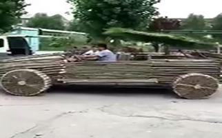 خودروی چوبی هم به بازار آمد + فیلم