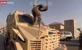 تخریب تجهیزات نظامی توسط نیروهای آمریکایی پیش از خروج از افغانستان