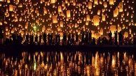 جشنواره فانوس در تایلند + فیلم