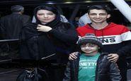 تیپ متفاوت همسر شهاب حسینی و پسرش+عکس
