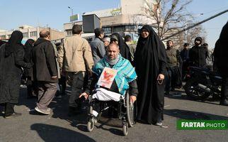 تصاویری فوق العاده از حضور میلیونی مردم در وداع با سردار شهید سلیمانی