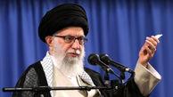 عینک جدید رهبر انقلاب در دیدار با روحانیون