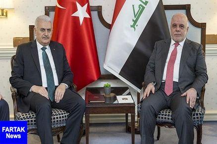 نخست وزيران ترکيه و عراق ديدار کردند