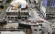 فاجعه در هتل در حال ساخت در آمریکا؛ نصف ساختمان ریخت!