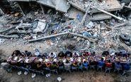 افطار در خرابههای غزه