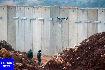 اسرائیل به بهانه وجود تونلها، در نقاط مرزی با لبنان دیوارکشی میکند