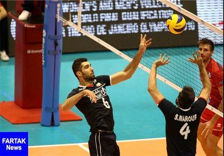 لیگ ملتهای والیبال| ایران صفر-فرانسه ۲؛ شاگردان کولاکوویچ ست دوم را هم واگذار کردند