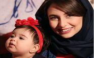 تیپ و ظاهر حدیث مدنی به همراه خواهرزاده اش (عکس)